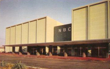 NBC Burbank Television Studios-Postcard