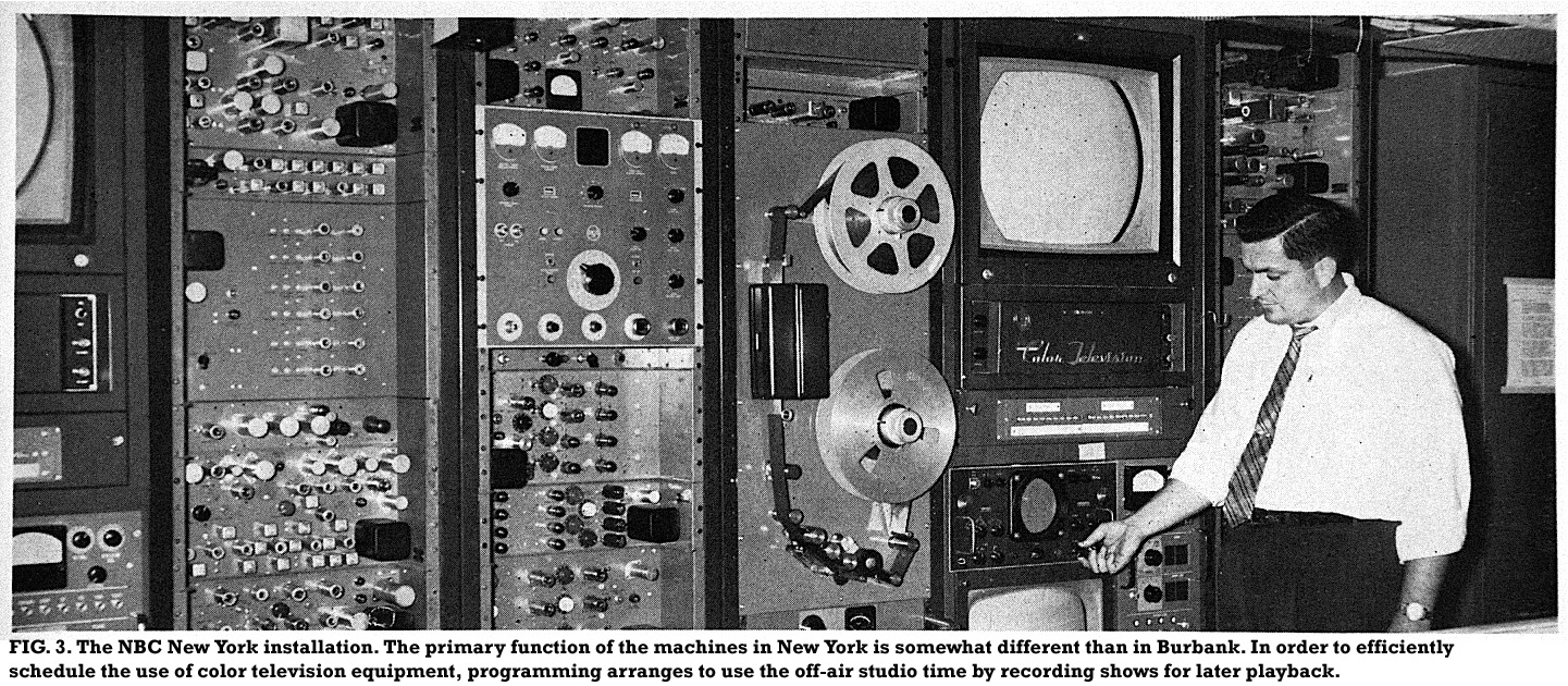 Early Ampex And Rca Quads At Nbc Burbank And Rca Trt 1s At