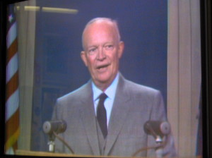 President Eisenhower at WRC-TV Dedication. This is the oldest COLOR Quad recording known to exist.