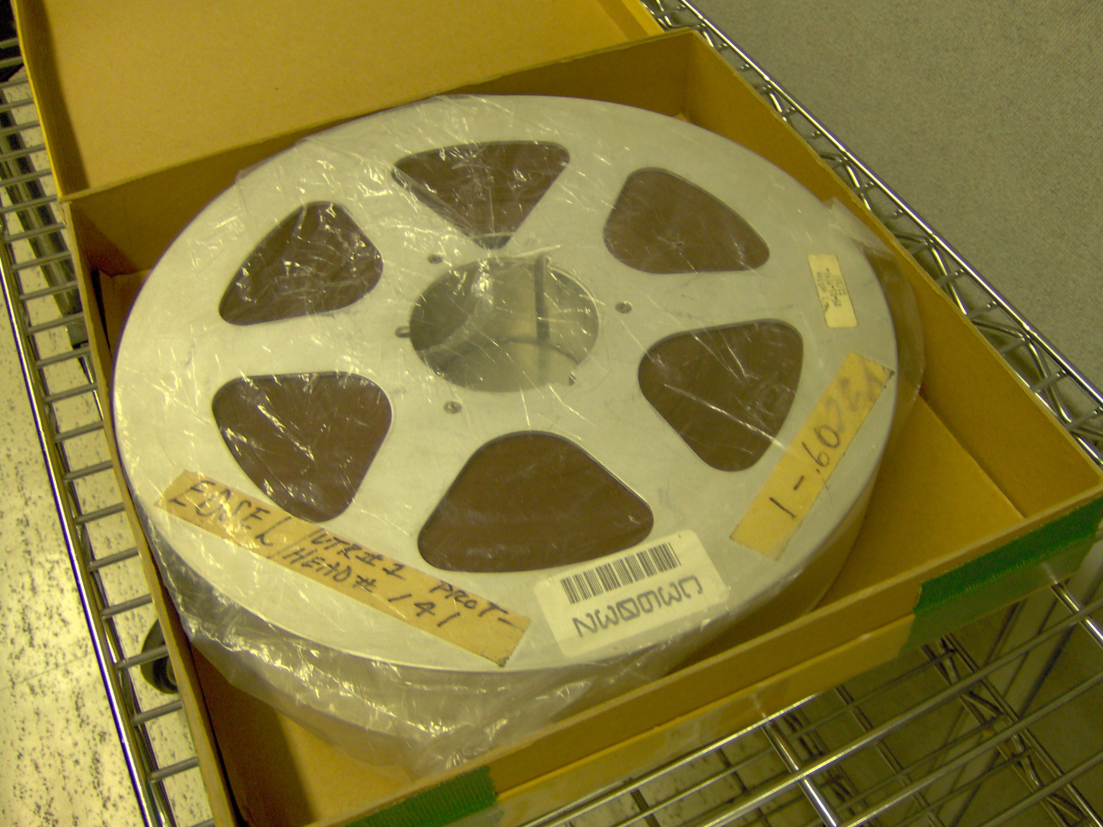 The Quad Videotape Group Preserving Tape Equipment And The