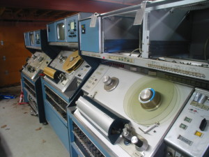 RCA TR-70s collected from an institution, prior to restoration to service.