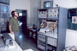 Visual Electronics VA-50 Quad at KHOF-TV, San Bernardino (Bruce Braun Collection)